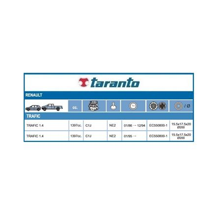 KIT EMBRAGUE TRAFIC 1.4